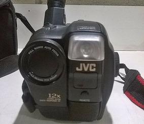 Filmadora Vhs Jvc Gr-ax700 Completa Com Manual Com Defeito