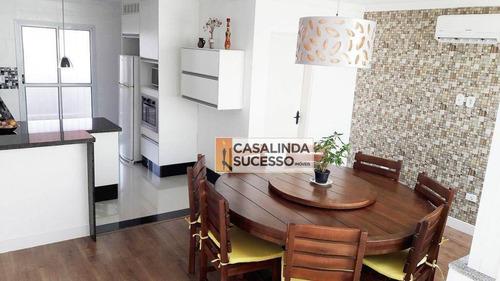 Sobrado 120m² 4 Dormts. Próximo Da Praça Fernando Gomes - So0568 - So0568
