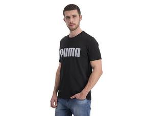 Playera Puma Negra Para Hombre 100% Algodón Envio Gratis