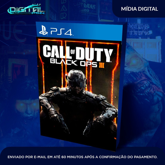 Call Of Duty Black Ops Iii Ps4 Midia Digital Envio Já!