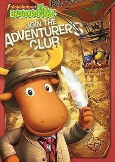 Dvd Backyardigans -el Club De Los Aventureros-