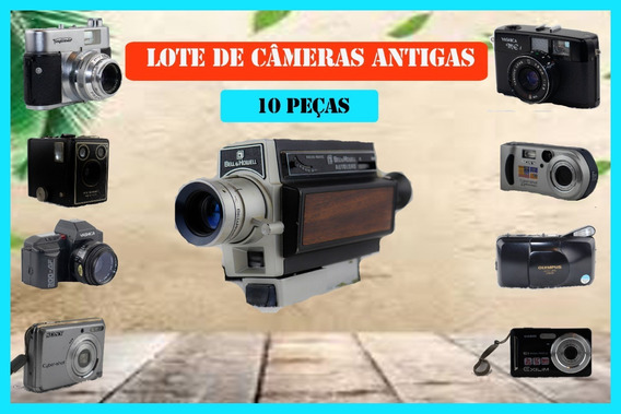 Câmeras Antigas - Super Conservadas R$ 197,00 Cada