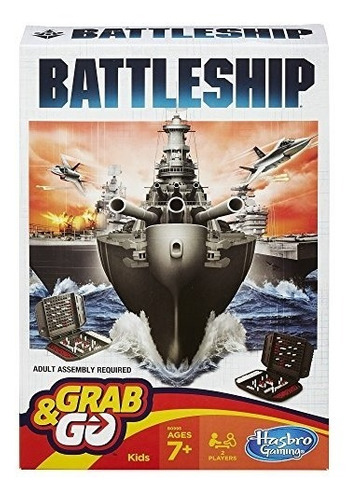 Battleship Grab And Go Game (tamaño Del Viaje)