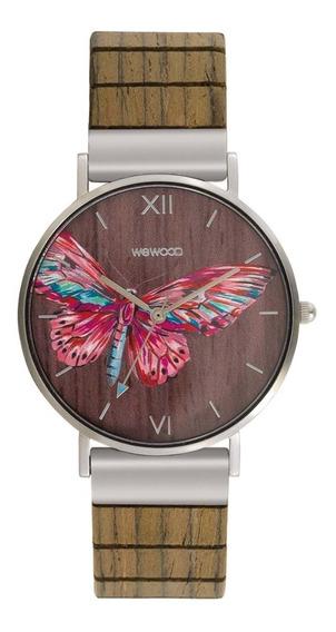 Relógio, Wewood, Aurora Tropical Nut
