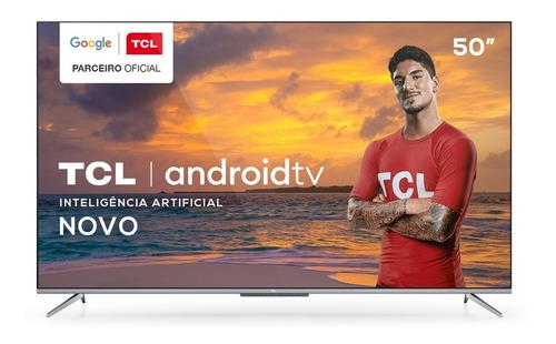 Smart Tv Tcl Led 50 50p715 4k Uhd Hdr Hdmi Netflix E Youtube