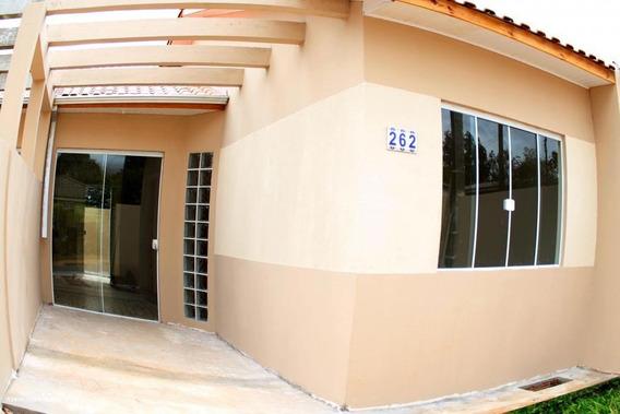 Casa Para Venda Em Ponta Grossa, Chapada, 3 Dormitórios, 1 Suíte, 1 Banheiro, 2 Vagas - 00093