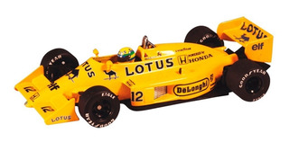 Miniatura Ayrton Senna Lotus 12 99t Cúpula Trincada