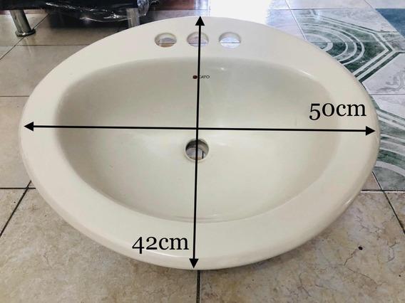 Lavabo Cato Ovalado Nuevo Ceramica Ovalin