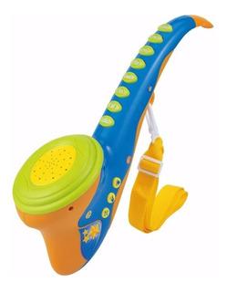 Saxofón Musical Infantil Melodias Didactico Titanweb