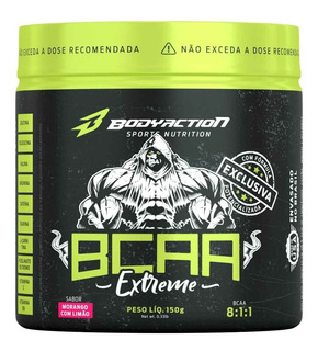 Bcaa Extreme 150g ( 8:1:1 ) - Body Action