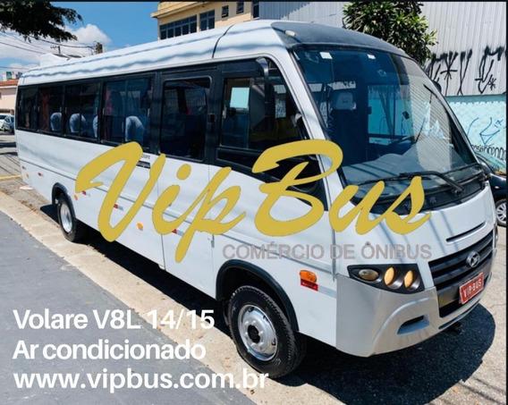 Volare V8l 2014/2015 Ar Condicionado Financia 100% Vipbus
