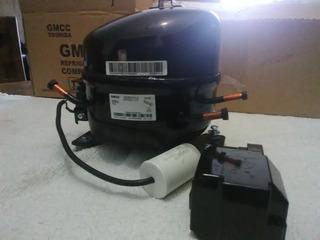 Compresor O Motor 1/4 Marca Toshiba Oferta!! 3 Tubos R-134