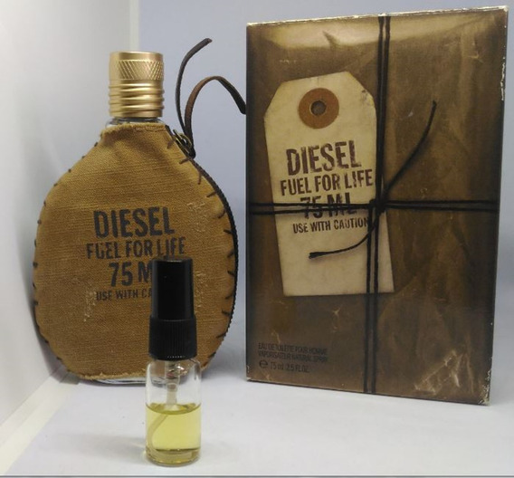 Amostra Do Perfume Diesel Fuel For Life Masculino Frasco 5ml