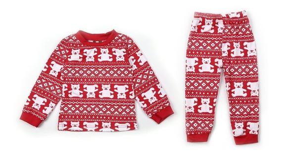 Traje De Pijamas Familiares De Navidad Traje De Padre E Hijo