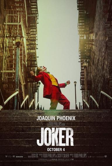 Posters Cine Joker Guason Batman Dc Comics Peliculas 45x30 Cm