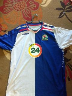 Camisa Blackburn Rovers 2007 Titular