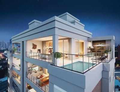 Cobertura Com 4 Dormitórios À Venda, 316 M² Por R$ 6.175.430 - Moema - São Paulo/sp - Co0047