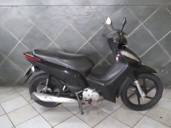 Honda Biz 125 Es Preta 2014