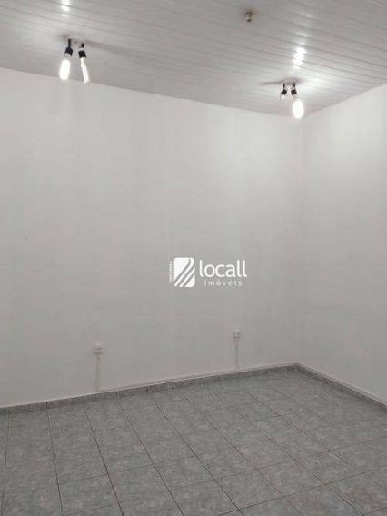 Casa Com 1 Dormitório Para Alugar Por R$ 650,00/mês - Vila Santa Cruz - São José Do Rio Preto/sp - Ca0564