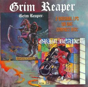 Cd Grim Reaper - See You In Hell / Fear No Evil - Importado