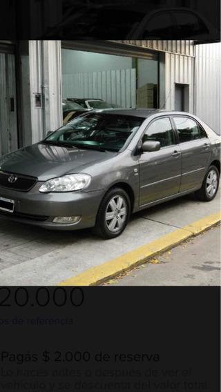 Toyota Corolla 1.8 Se-g At 2007