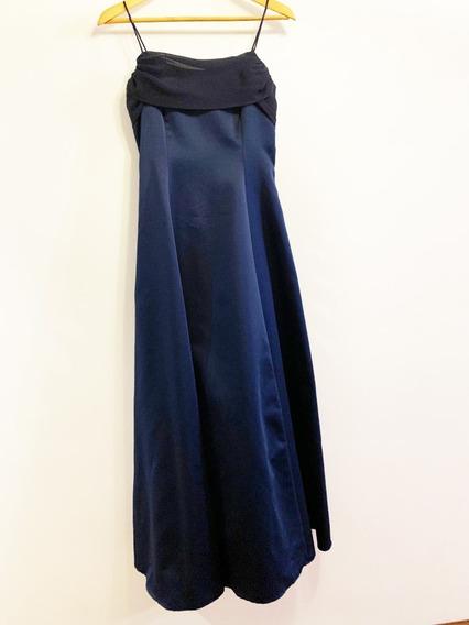 Vestido De Fiesta Largo, Poco Uso. Comprado En Usa.