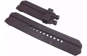 Pulseira Oakley Gearbox Uhr Stealth Preta Borracha