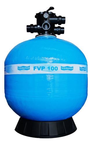 Filtro De Piscina Completo Sodramar Fvp-100 314 Mil Litros