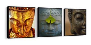 Quadro Decorativo Buda P Cliníca Spa Budismo Meditação Zen
