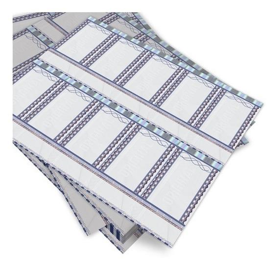 Ingresso Segurança Papel Moeda-kit Com 1000 Ingressos 108x60
