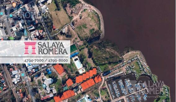 Terreno Lote - Puerto De Olivos - Libertador Al Rio