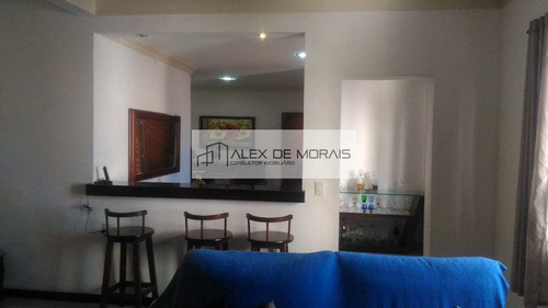 Imagem 1 de 26 de Casa Com 210m², 3 Quartos Sendo 1 Suíte, Com Uma Vaga De Garagem, No Centro De Vitória - Es - Ca0001_alexmo