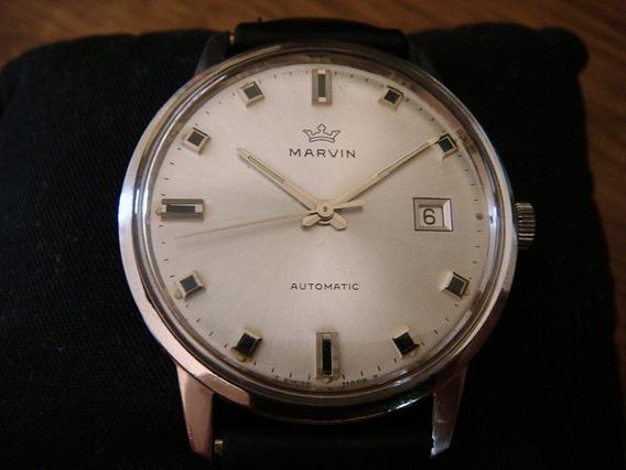 Fino Reloj Marvin 25 Jewels Swiss Made Ø40mm 100% Original.