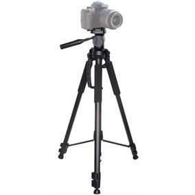 Tripé Profissional P/cameras Em Alumínio Alt. 1.50 Metros