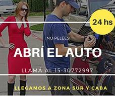 Cerrajero Apertura De Automoviles Y Motos Z/sur Capital Fed.