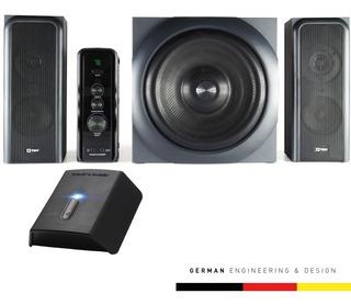Parlante Home Theater Con Bluetooth Ratsel Para Gamer
