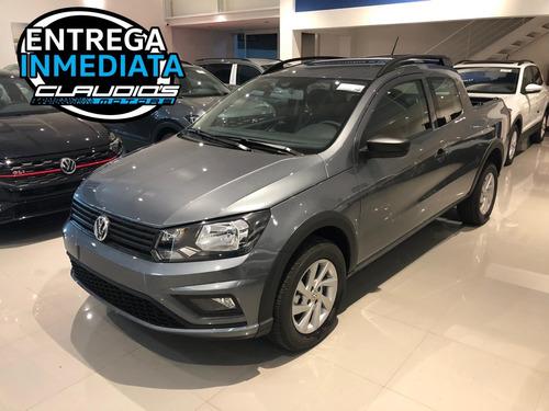 Volkswagen Saveiro Doble Cabina Gris Platino. Entrega Ya!