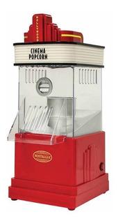 Máquina de palomitas Nostalgia HHP100 aire caliente roja 1200W 120V