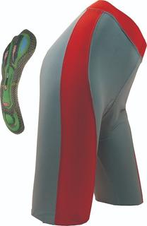 Calza Ciclismo De Mujer Lycra Con Badana De Gel ,