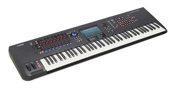 Teclado Workstation Sintetizador Yamaha Montage 7