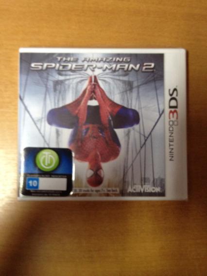 N3ds The Amazing Spider Man 2 Novo Lacrado