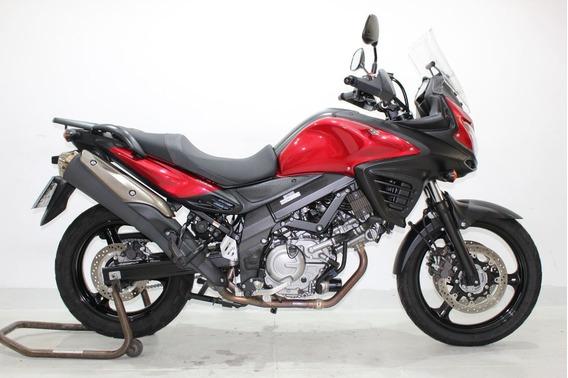 Suzuki V Strom 650 Abs 2018 Vermelha