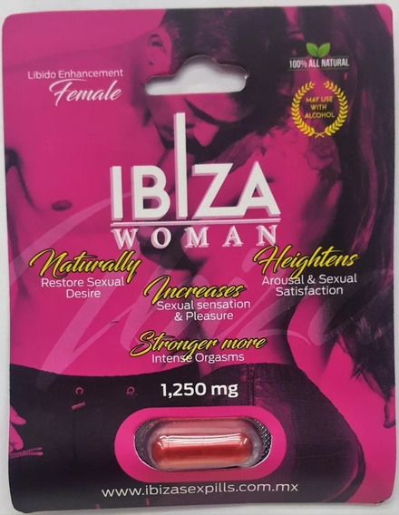 Pastilla Vigorizante Sexual Femenina Multiorgasmica