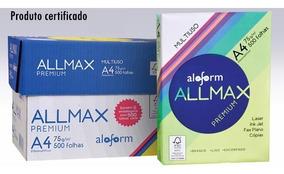 Papel Sulfite A4 Allmax Multiuso - 2500 Folhas Atacado
