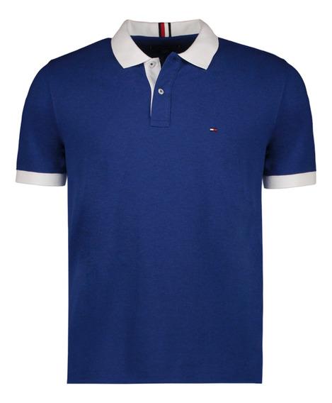 Polo - Tommy Hilfiger - Mw0mw10471-049 - Azul Hombre
