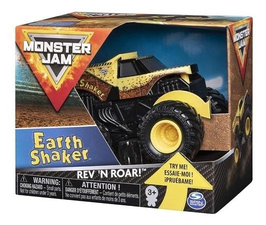 Monster Jam Rev´n Roar Carro Com Som Earth Shaker Sunny 2023