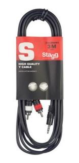 Stagg Syc3mpsb2cm Cable Rca - Miniplug 3mts Audio