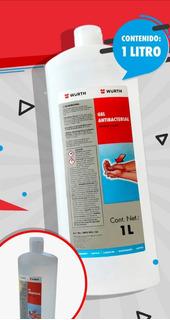 Gel Antibacterial 1 Litro. Elimina Virus Y Bacterias.