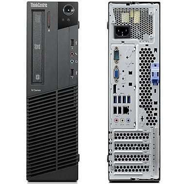 Cpu Lenovo M92 Intel Core I3 3ª 4gb Ddr3 Ssd 120gb Wi-fi