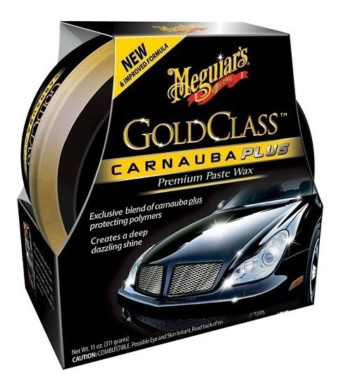 Meguiars Gold Class Carnauba Plus Cera Premium Zona Norte